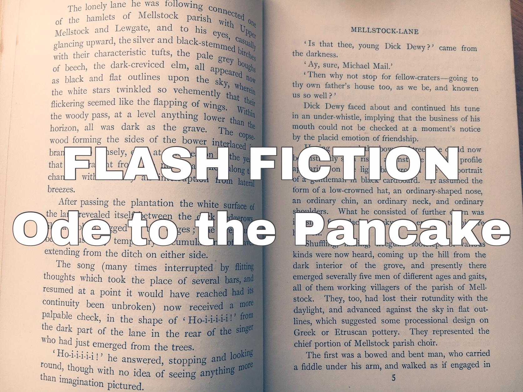 Flash Fiction – Ode to the Pancake